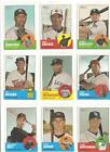 2012 Topps Heritage SP Lot