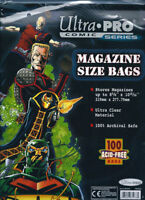Ultra Pro REGULAR MAGAZINE .... BAGS .... package of 100