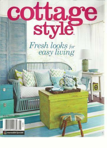 Cottage style magazine ebay for Country cottage magazine