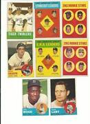 1963 Baseball Card Lot