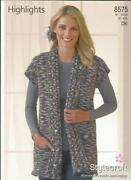 Ladies Jacket Knitting Pattern