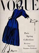 Vintage Vogue Magazine
