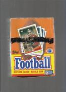 1988 Topps Football Box