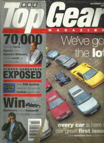 top gear magazine ebay. Black Bedroom Furniture Sets. Home Design Ideas