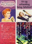 Glamour Postcards