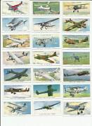 Players Cigarette Cards Aircraft