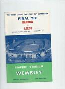 Leeds Rugby League Programmes