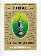 1972 FA Cup Final