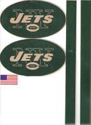 New York Jets Helmet Decals