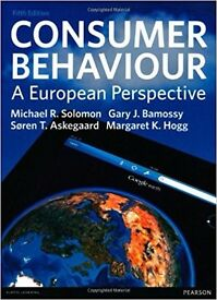 Consumer Behaviour: A European Perspective by Michael R. Solomon ,Bamossy , Askegaard ,