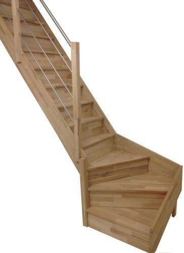 treppe 1 4 gewendelt ebay. Black Bedroom Furniture Sets. Home Design Ideas
