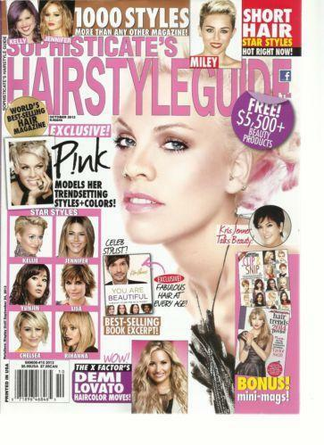 Sophisticate's Hairstyle Guide: Magazine Back Issues | eBay