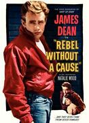 James Dean Movie Poster