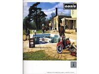 Oasis be here now guitar tab book