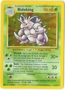 Nidoking Pokemon Card