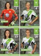 Fussball Frauen Autogrammkarte