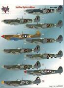 1/32 Spitfire Decals