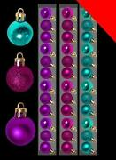 Turquoise Christmas Decorations
