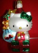 Hello Kitty Glass Ornament