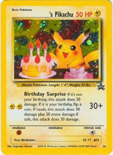 Happy Birthday Pikachu Singles Ebay