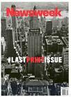 Newsweek Magazines 2012