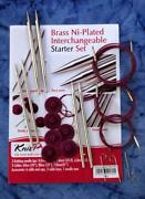 Metal Knitting Needle Set