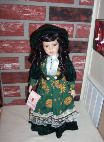 Rose Collection Porcelain Doll Ebay