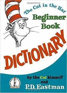 ▀▄▀ The Cat in the Hat Dictionary (Dr Seuss) P D Eastman,HC Book