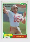 Joe Montana Rookie