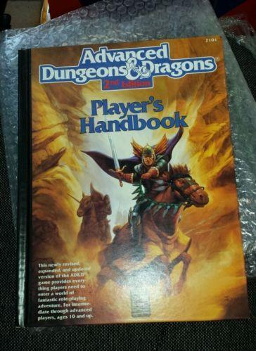 d and d players handbook