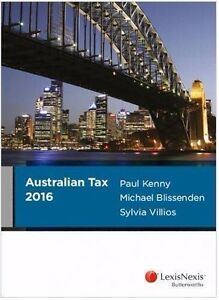 Australian Tax / Concise Tax Legislation 2016 /Reference Card 1&2 Goodwood Unley Area Preview