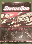 Status Quo Autographs