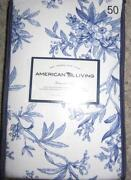 Blue Toile Curtains
