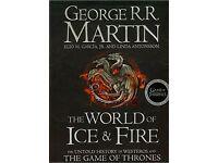 George R.R. Martin (Game Of Thrones) 3 Hardback Books RRP £80 (4 Westeros prequels & big anthology)
