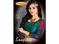 STNAMO SAMYUKTA WHOLESALE PURE COTTON SILK SAREE MARKET