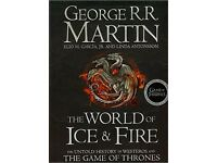 George R.R. Martin: The World of Ice and Fire The Untold History of Westeros and the Game of Thrones