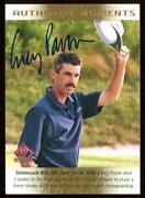 Golf Autographs