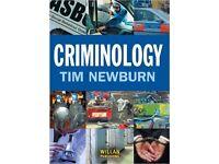 Criminology by Tim Newburn - Paperback