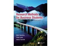 Research Methods for Business Students - Saunders 4th Edition