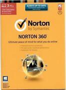 Norton 360 3 Year