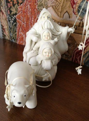 Snowbabies Christmas Ornaments
