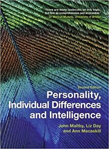 Personality, Individual Differences & Intelligence, 2nd ed