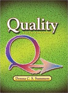 Quality (5 th edition) by Donna Summers