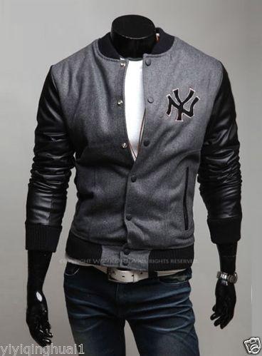 Ny Baseball Jacket Ebay