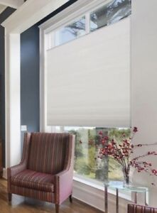 New Cordless Top-Down Bottom-Up Fabric Honeycomb Blinds Shades