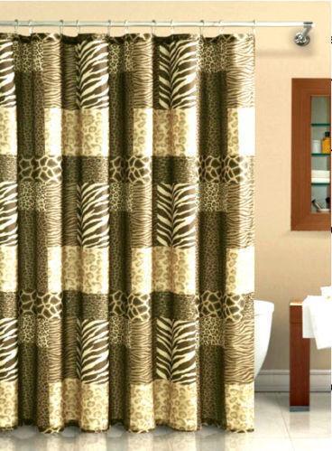 Animal Print Shower Curtain | EBay