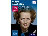 Oxford AQA History for A Level: The Making of Modern Britain 1951-2007 (History a Level for Aqa)