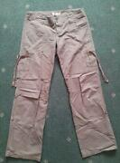 Womens Cargo Trousers