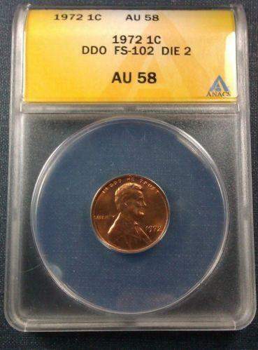 1972 Double Die Lincoln Cent Ebay