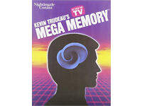 Pack of Memory Tapes (course to improve one's memory) 'Mega-memory' £10